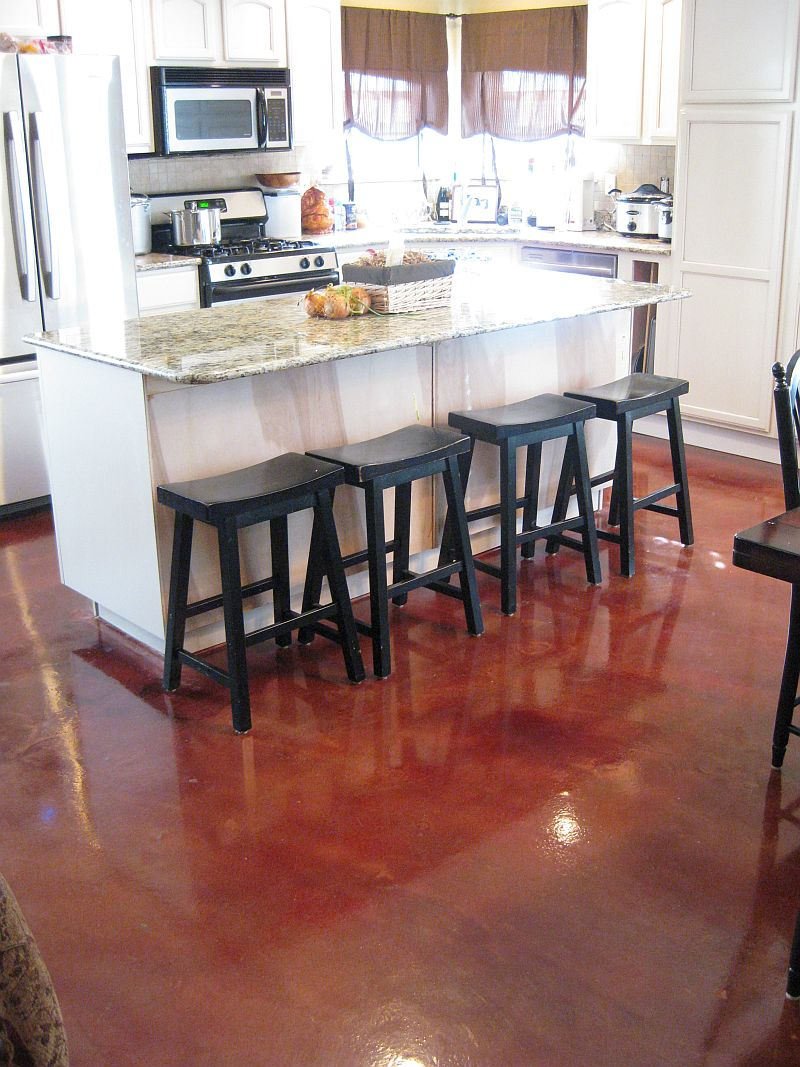Comconcrete Kitchen Floor : Decorative Concrete Overlays Atlanta  Elite Crete Atlanta